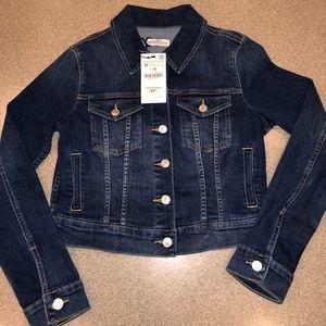 Med nwt Zara premium denim jacket long sleeve